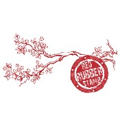 SPRING BRANCH Rubber Stamp from Make It Crafty