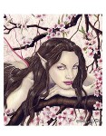 FAIRY OF THE SPRING BLOOM Rubber Stamp Rebecca Sinz Collection from Sweet Pea Stamps