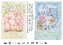 Rubber Stamp Full Sheet 6 - Plate 121- Karen Middleton Collection from Sweet Pea Stamps