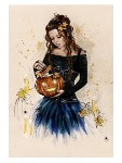 TRICK OR TREAT Rubber Stamp Anna Marine Collection from Sweet Pea Stamps