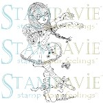 ANGELINE BALLERINE Clear Stamp Anne Cresci Collection from Stampavie