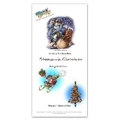 STEAMPUNK CHRISTMAS COLLECTION Rubber Stamp Set from Make It Crafty