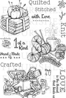 STITCHED FOR YOU Clear Stamp Set from Flourishes