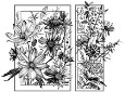 SUMMER FLOWERS Cling Mount Stamp from Magenta