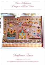 SUNFLOWERS FARM Cross Stitch Pattern by Cuore e Batticuore