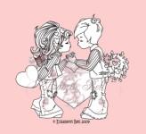 SWEET LOVE Clear Stamp Elisabeth Bell Designs from Belles 'n Whistles
