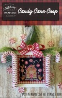 CANDY CANE COOP Cross Stitch Chart from Stitching With The Housewives