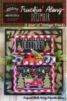 Truckin' Along A Year of Vintage Trucks Series DECEMBER Cross Stitch Chart from Stitching With the Housewives