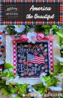 AMERICA THE BEAUTIFUL Cross Stitch Chart from Stitching With The Housewives