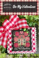 BE MY VALENTINE Cross Stitch Chart from Stitching With The Housewives