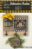 Calendar Crates Series AUGUST Cross Stitch Chart from Stitching With The Housewives
