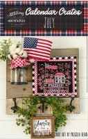 Calendar Crates Series JULY Cross Stitch Chart from Stitching With The Housewives