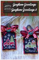GINGHAM GREETINGS 1 & 2 Cross Stitch Chart from Stitching With The Housewives