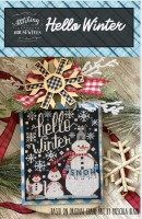 HELLO WINTER Cross Stitch Chart from Stitching With The Housewives