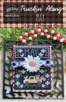 Truckin' Along A Year of Vintage Trucks Series MAY Cross Stitch Chart from Stitching With the Housewives