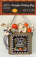 Back Up the Truck Series PUMPKIN PICKING DAY Cross Stitch Chart from Stitching With the Housewives