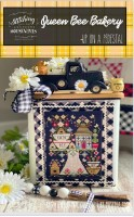 Up On a Pedestal Series QUEEN BEE BAKERY Cross Stitch Chart from Stitching With The Housewives