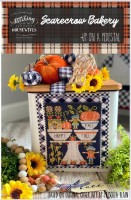 Up On a Pedestal Series SCARECROW BAKERY Cross Stitch Chart from Stitching With The Housewives