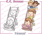 New! SWINGIN' Rubber Stamp Roberto's Rascals Collection from C.C. Designs