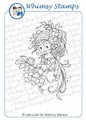 ROWAN FAIRY Rubber Stamp Wee Stamps Collection from Whimsy Stamps