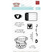 TEARRIFIC Clear Stamp Set from The Greeting Farm