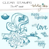 FAIRY TENDERHEARTED Clear Stamp Set from Tiddly Inks