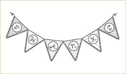 THANKS BANNER Lizzie Anne Designs from Gourmet Rubber Stamps