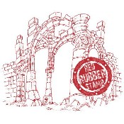 THE RUINS Rubber Stamp from Make It Crafty