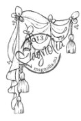 New! THEATER CURTAIN Rubber Stamp Once Upon a Time Collection from Magnolia