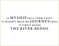 THE RIVER BENDS Lizzie Anne Designs from Gourmet Rubber Stamps