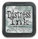 Tim Holtz Distress Ink Pad ICED SPRUCE from Ranger