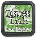 Tim Holtz Distress Ink Pad MOWED LAWN from Ranger