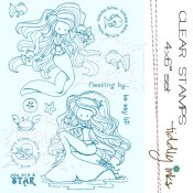 FLOATING BY Clear Stamp Set from Tiddly Inks