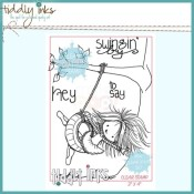 WRYN SWINGING BY Clear Stamp Set from Tiddly Inks