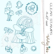 THANKS FAIRY MUCH Clear Stamp Set from Tiddly Inks