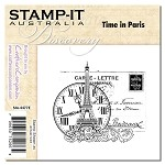 TIME IN PARIS Stamp It Australia Discovery Collection from Crafter's Companion