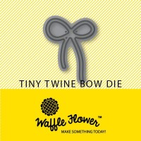 TINY TWINE BOW Metal Die from Waffle Flower Crafts