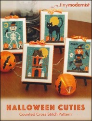HALLOWEEN CUTIES Cross Stitch Pattern from Tiny Modernist