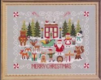 Christmas Stitch-A-Long Mystery Series - COMPLETE SERIES - Set of 4 Cross Stitch Charts by Tiny Modernist