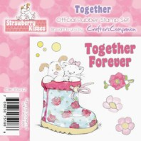 TOGETHER FOREVER Strawberry Kisses Collection from Crafter's Companion