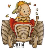 MIMO TRACTOR Rubber Stamp from Bildmalarna