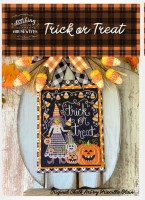 TRICK OR TREAT Cross Stitch Chart from Stitching With The Housewives