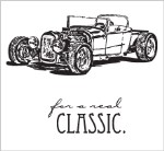 CLASSIC CAR Rubber Stamp Set from Gourmet Rubber Stamps