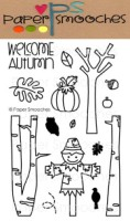 AUTUMN GROVES Clear Stamp Set Kismet Collection Seasonal Trees Series from Paper Smooches