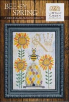 A Time For All Seasons Series BEE-SY SPRING Cross Stitch Pattern from Cottage Garden Samplings