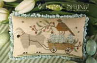 WELCOME SPRING Cross Stitch Pattern by With Thy Needle and Thread