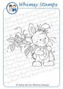 WEE BUNNY Rubber Stamp Wee Stamps Collection from Whimsy Stamps