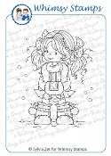 HEIDI Rubber Stamp Wee Stamps Collection from Whimsy Stamps