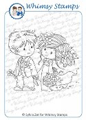 LOVE ME DO Rubber Stamp Wee Stamps Collection from Whimsy Stamps