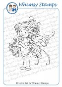 SUMMER FAIRY Rubber Stamp Wee Stamps Collection from Whimsy Stamps